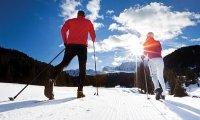 jazda na nartach biegowych